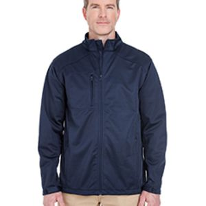 Men's Solid Soft Shell Jacket Thumbnail
