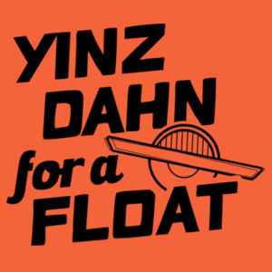Yinz Dahn? BLACK GRAPHIC Design